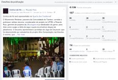 Postagem sobre Contos de Ifá na Quarta dos Tambores